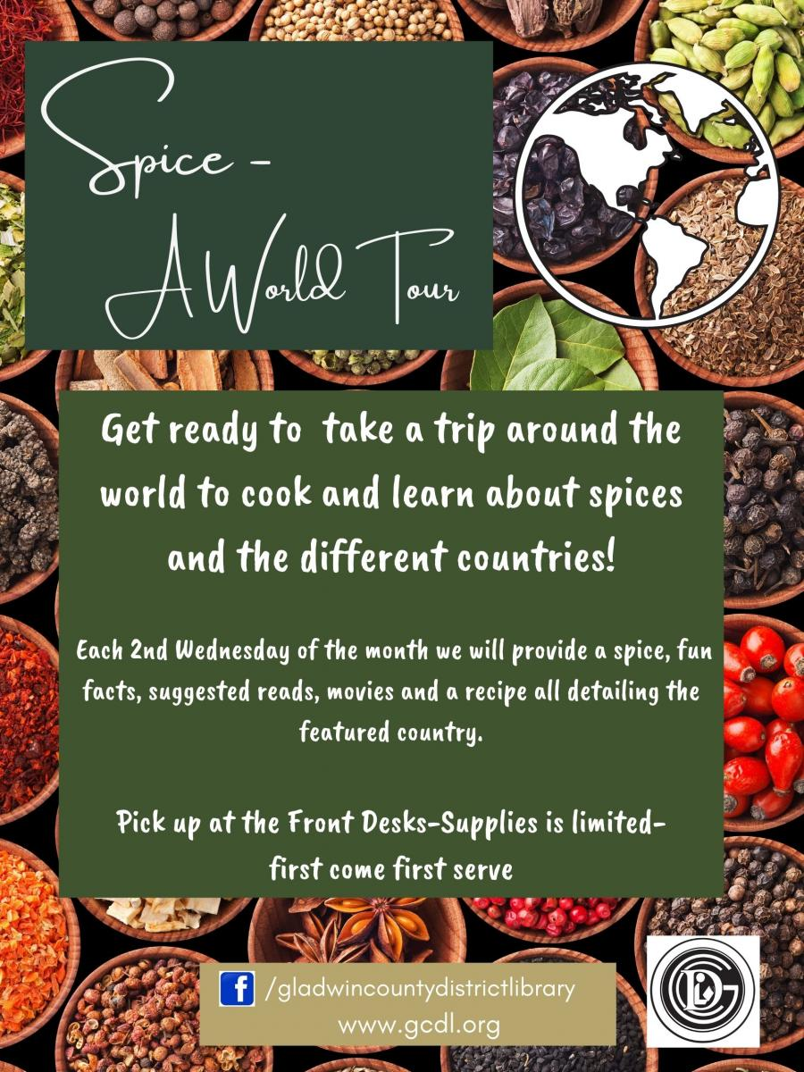 Spice a World Tour flier call 9894268221 for details
